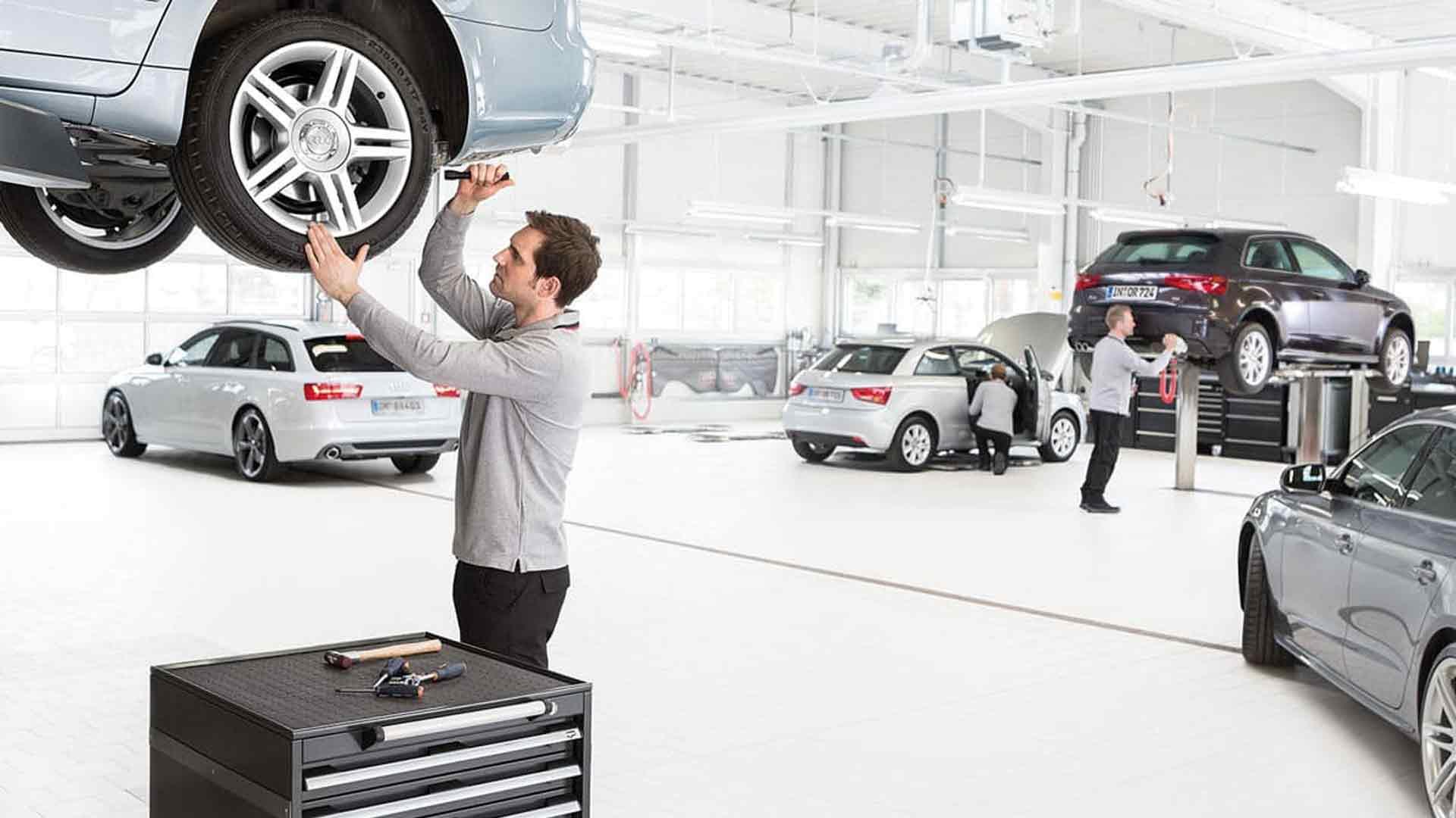 Manutenzione Audi: i pacchetti disponibili